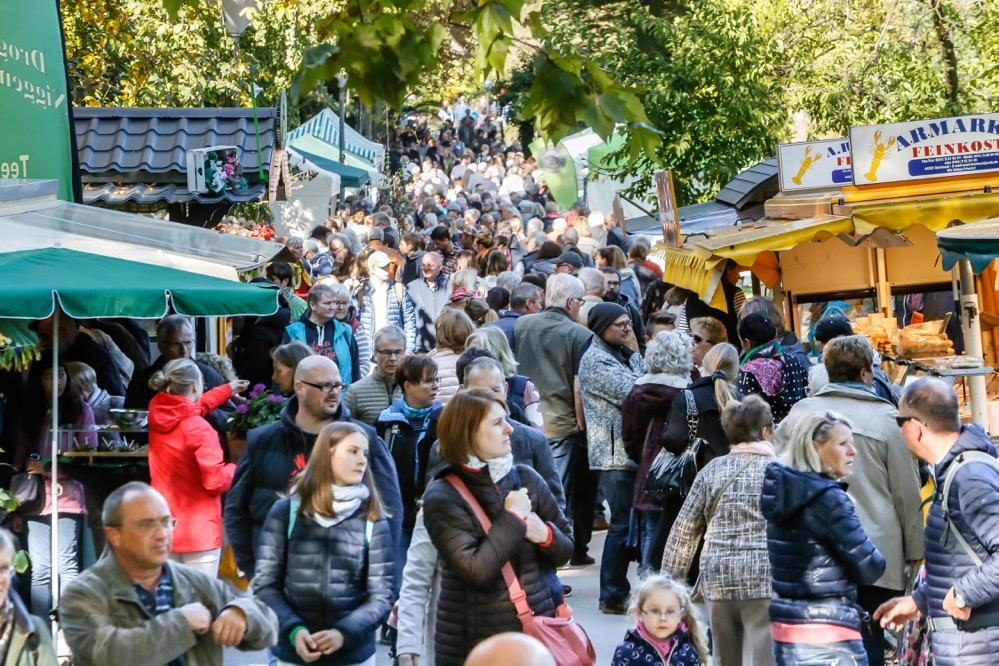 Herbstmarkt und Kastanienfest im Rombergpark sind seit Jahren Besuchermagnete. Foto: Oliver Schaper