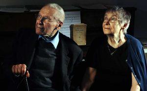 György Kurtág mit seiner im letzten Jahr verstorbenen Frau und Muse Márta.