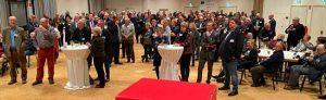 Gut besucht war der Neujahrsempfang bei ver.di im DSW21-Werksaal. Fotos: Alex Völkel