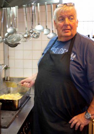 Koch an Neujahr: Klaus Haake