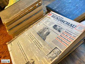 """Die Westfälische Rundschau ist schon lange im Museum - nun auch das Dortmunder Ehrenamtsprojekt """"Nordstadtblogger""""."""