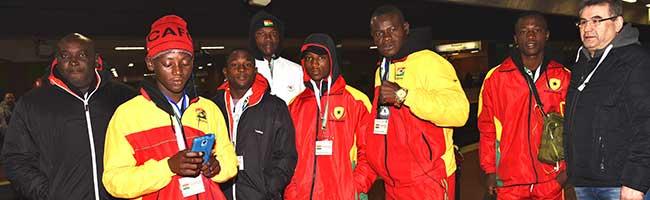 Ring frei für die Schule des Lebens: Boxteam aus Accra/Ghana besuchte das Stadtgymnasium Dortmund