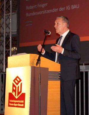 Robert Feiger (Bundesvorsitzender der IG BAU)