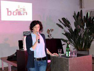 Die zahlreich erschienenen Gäste der kleinen Jubiläumsfeier wurde von bodo-Geschäftsführerin Tanja Walter herzlich begrüßt.