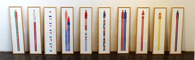 Ganz Europa in der Nordstadt: Wolfgang Schmidt zeigt mit Grafiken in der Galerie im Depot was den Kontinent bewegt