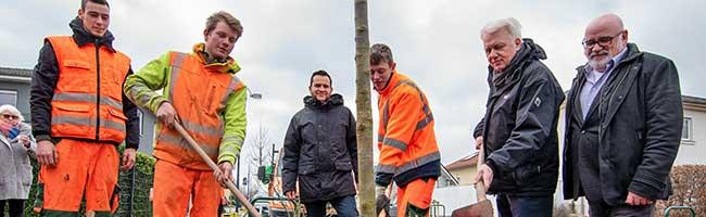 """Erste große Pflanzaktion des neuen Grünflächenamtes Dortmund: Zukunftsbäume und Blumen für """"Londoner Bogen"""""""