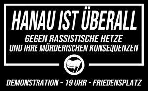 Der Demonstrationsaufruf für Donnerstag