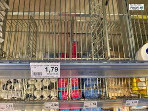 Desinfektionsmittel sind in vielen Dortmunder Drogerien und Supermärkten ausverkauft.