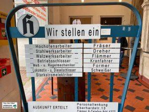 Diese Hoesch-Stellenanzeigen sind zwar nicht mehr aktuell - aber es gibt viele freie Stellen in Dortmund.