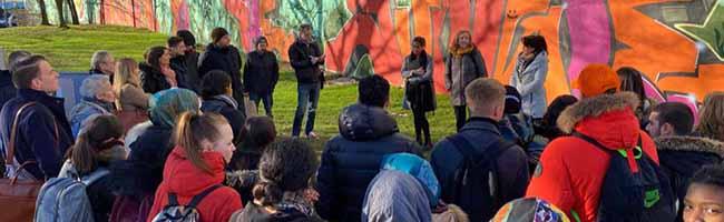 """Alles """"Affentheater"""" in der Nordstadt? Rassismus-Debatte bedeutet das Aus für Gorilla-Graffito in der Münsterstraße"""