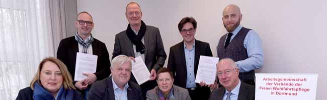 Sechs-Jahres-Vertrag: Planungssicherheit für die freie Wohlfahrtspflege – und mehr sozialer Mehrwert für Dortmund