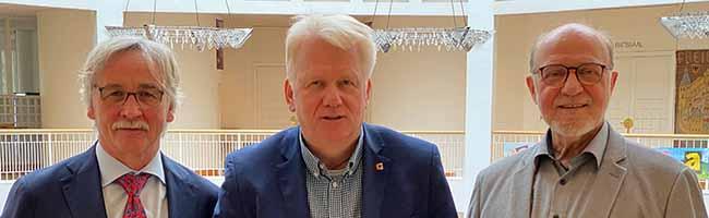 Nachfolge im Kampf für Demokratie und Vielfalt: Manfred Kossack übernimmt für Hartmut Anders-Hoepgen