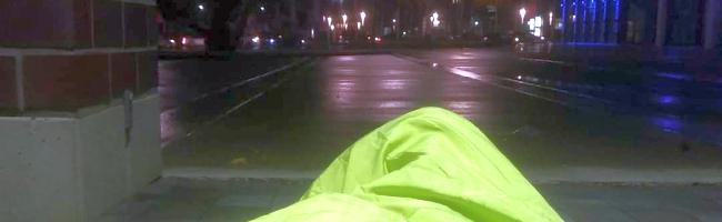 Obdachlos für eine Nacht: Wie ist das, ohne Wohnung zu sein?