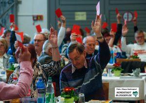 Mehrere Anträge brachten die AWO-Delegierten auf den Weg.