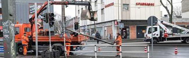 Münsterstraße bekommt Flüsterasphalt: Vollsperrungen an fünf Wochenenden und monatelange Einspurigkeit geplant