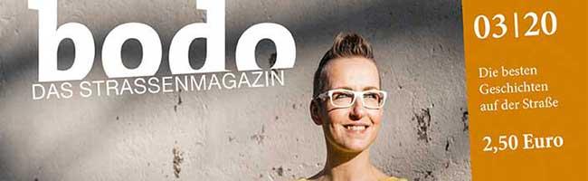 bodo-Straßenmagazin für Dortmund und Bochum lockt im März mit Kochen, Cartoons und Klassenfragen