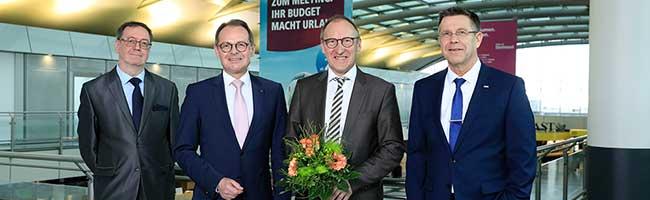 Führungswechsel: Langjähriger Chef des Flughafens Weeze wird Nachfolger von Udo Mager am Dortmund Airport