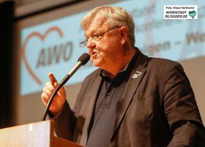 Die unternehmerische Seite der Dortmunder Arbeiterwohlfahrt stellte Geschäftsführer Andreas Gora vor.