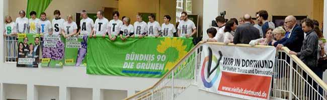 Rechtsstreit abgewendet: Beim Kommunalwahl-Abend feiert die AfD in Dortmund nun auch in der ersten Rathaus-Etage