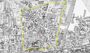 Wenn die Kreuzung Münsterstraße/ Leopoldstraße/ Mallinckrodtstraße gesperrt werden muss, sind großräumige Umleitungen nötig.