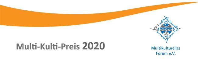 Jetzt für den Multi-Kulti-Preis 2020 bewerben – zum diesjährigen Jubiläum wird Preisgeld auf 2.000 Euro erhöht