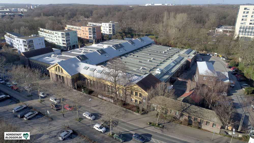 Luftbild Kulturort Depot
