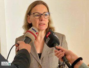 Sabine Loos ist Hauptgeschäftsführerin der Westfalenhallen-Unternehmensgruppe.. Foto: Alex Völkel
