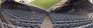 Wegen der Gefahren durch den Coronavirus soll das Derby im Signal-Iduna-Park als Geisterspiel ohne Zuschauer*innen stattfinden. Foto: Alex Völkel