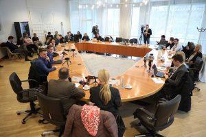 Großes Medieninteresse gab es an der Pressekonferenz.