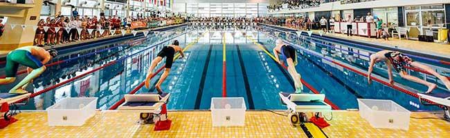 """Rund 700 Athlet*innen aus acht Nationen: """"Swim Race Days"""" bieten auch 2020 tolles Showprogramm im Südbad Dortmund"""