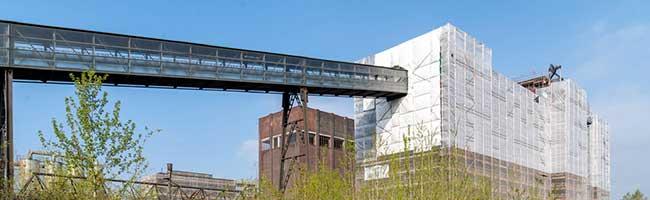 Bestens im Zeitplan für die IGA 2027: Gleich mehrere Gebäude der Kokerei Hansa werden denkmalgerecht saniert