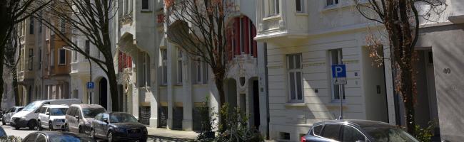 Reizvolle Jugendstilhäuser in der Lübecker Straße sind das Dortmunder Denkmal des Monats April 2020