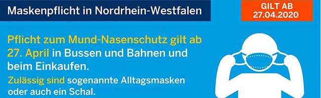 Nach massiver Kritik der Kommunen gilt auch in NRW ab Montag Maskenpflicht – hier gibt es eine Nähanleitung!