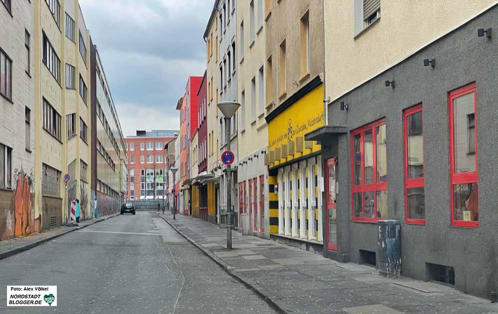 Tote Hose - so stellt sich die Situation in der Linienstraße aktuell dar.
