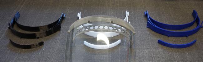 Hochwertige Corona-Schutzmasken aus dem 3D-Drucker der FH Dortmund – Unterstützung für Klinikpersonal