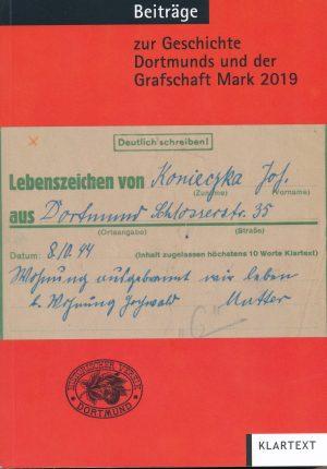 """Band 110 der """"Beiträge zur Geschichte Dortmunds und der Grafschaft Mark"""""""