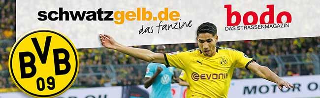 100 Seiten Borussia: Der Fußball-Blog schwatzgelb.de und der BVB Dortmund unterstützen die Obdachlosenzeitung bodo