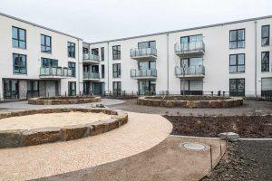 46 öffentlich geförderte Wohnungen hat DOGEWO21 am Phoenixsee errichtet.