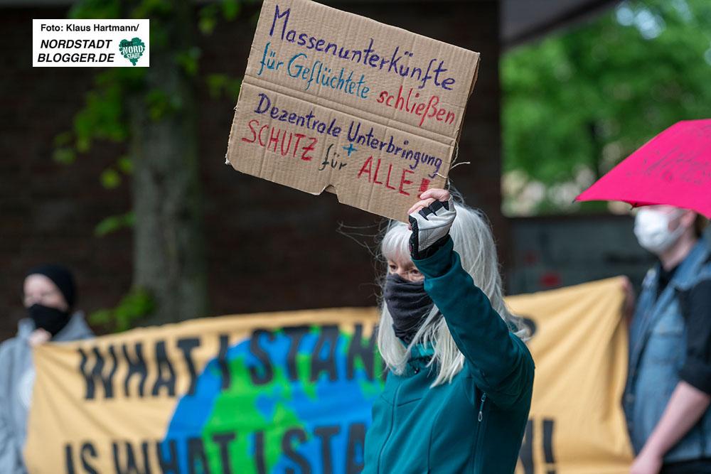 1. Mai Grenzenlos Solidarisch, Demonstration am Sonnenplatz