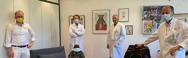 """Lässt sich Covid19 erschnüffeln? Klinikum Dortmund startet klinischen Versuch mit """"elektronischer Hundenase"""""""