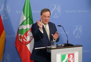 Ministerpräsident Armin Laschet hat den Nordrhein-Westfalen-Plan vorgestellt. Foto: Land NRW