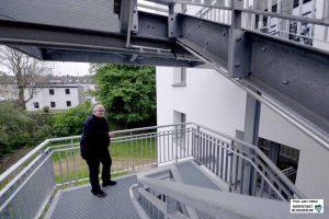 Frank Czwikla ist froh, dass die Bauarbeiten fast abgeschlossen sind. Ein Kostentreiber war der Brandschutz mit dem zweiten Rettungsweg.