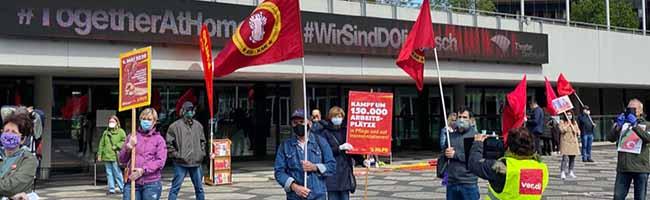 Tag der Arbeit und Pandemie: Linke und antifaschistische Kundgebungen in Dortmund trotz Ausnahmezustand