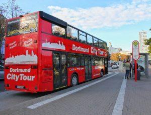 Die Stadtrundfahrten im roten Doppeldecker-Bus der Dortmunder CityTour gehen wieder los.