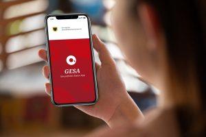 """Die GEsundheits-Status-App """"GESA"""" aus dem Dortmunder IT-Unternehmen Materna soll Gesundheitsämter entlasten. (Bild: Materna)"""
