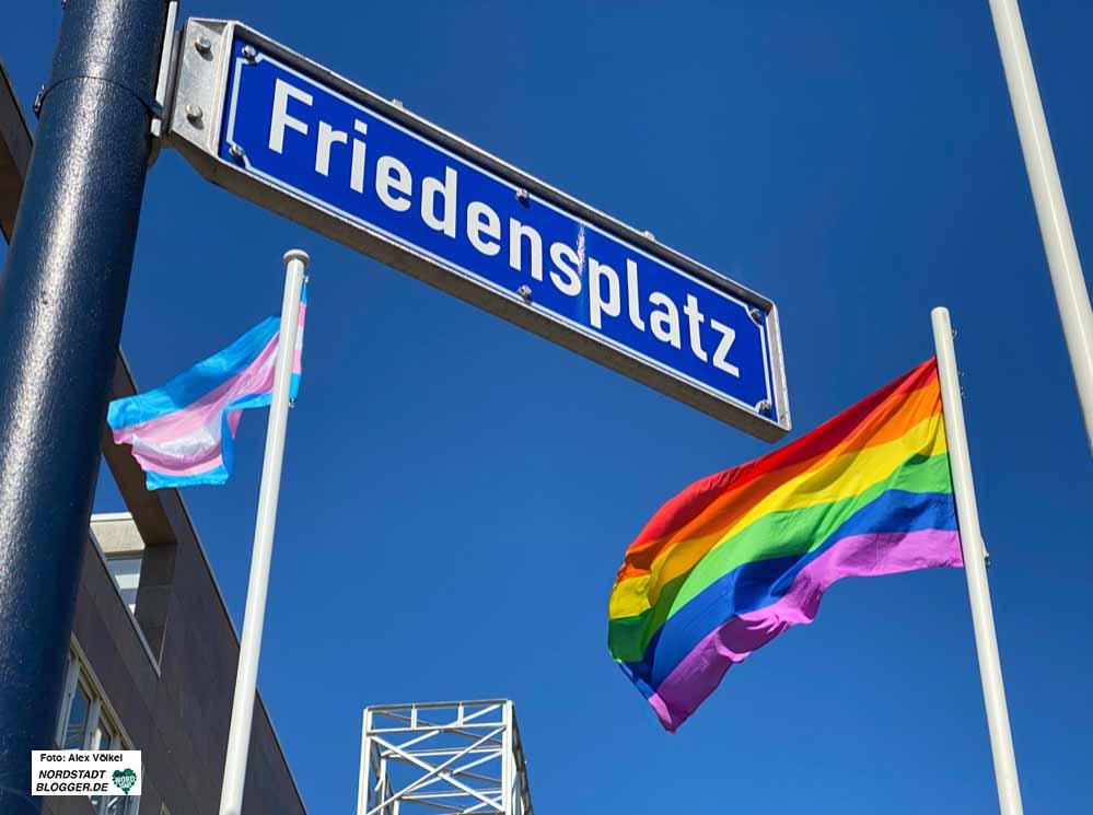 Dortmundzeigtflagge Mit Regenbogenflaggen Ein Zeichen Fur Toleranz Und Vielfalt In Unserer Stadt Setzen Nordstadtblogger