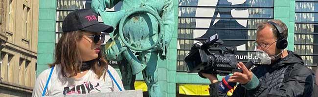 Neonazis greifen Journalisten in Dortmund an: Übergriffe bei verbotener Kundgebung gegen Corona-Maßnahmen