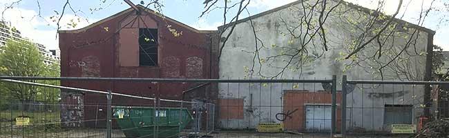 """In der alten Waschkaue Dortmund-Dorstfeld starten die Abbrucharbeiten für das neue Bürgerhaus """"Pulsschlag"""""""