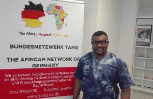 Kevin Ndeme Matuke, Vorsitzender des The African Network of Germany (TANG) NRW und Mitglied des Dortmunder Integrationsrats