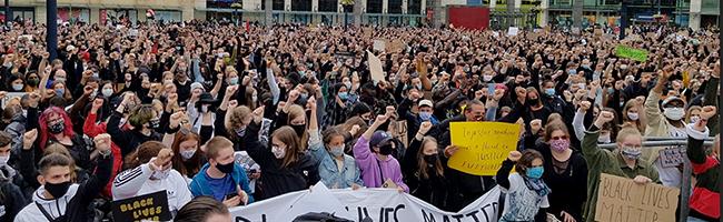Freitag Demo gegen Schließung von Karstadt Galeria Kaufhof in Dortmund – Samstag Kundgebung gegen Rassismus